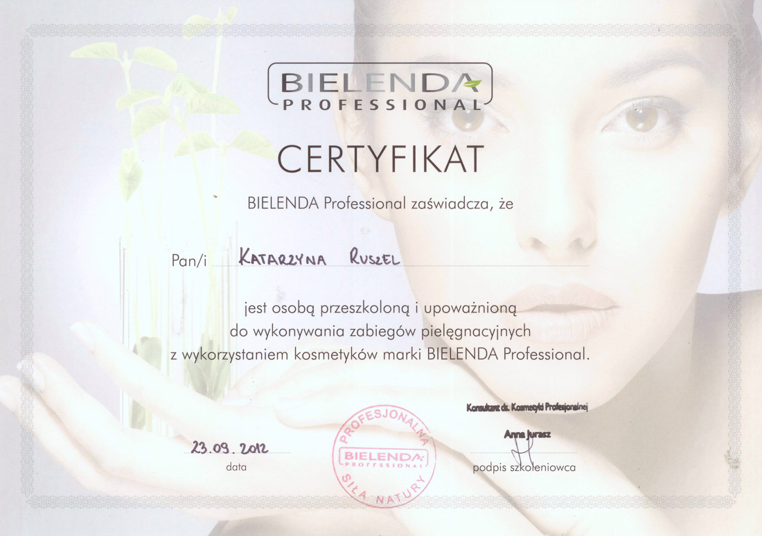 Kosmetyki Bielenda Professional Rzeszów