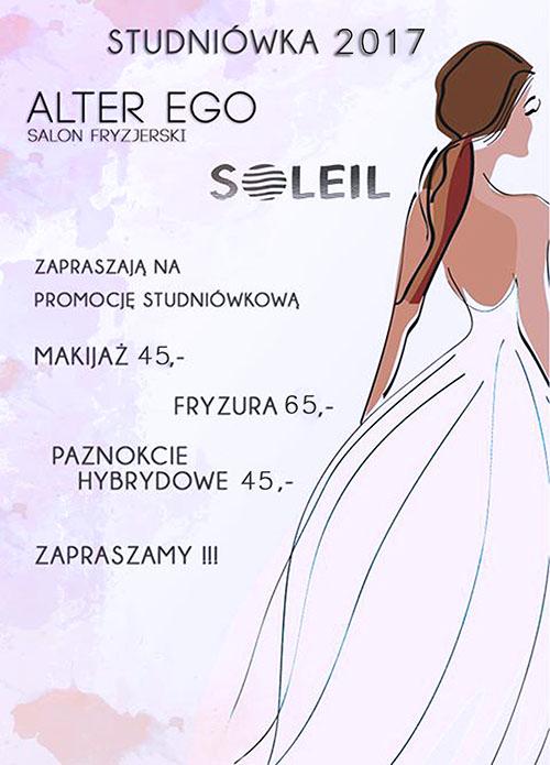 Promocja studniówkowa na makijaż, fryzurę, paznokcie Rzeszów