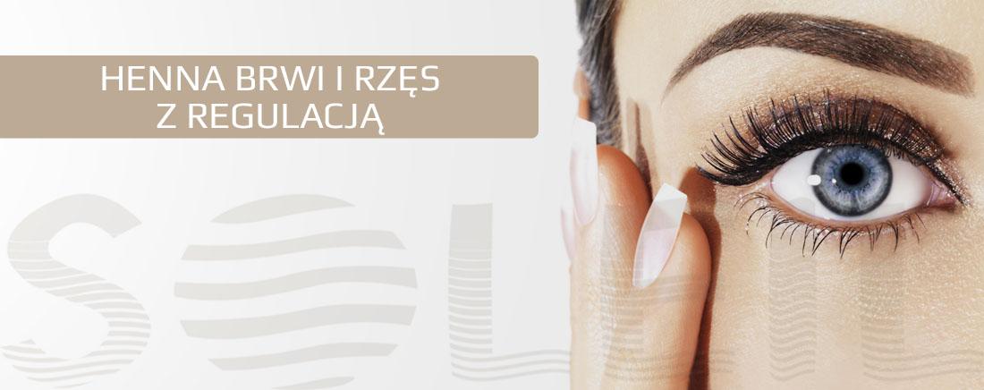 Henna brwi i rzęs z regulacją Rzeszów